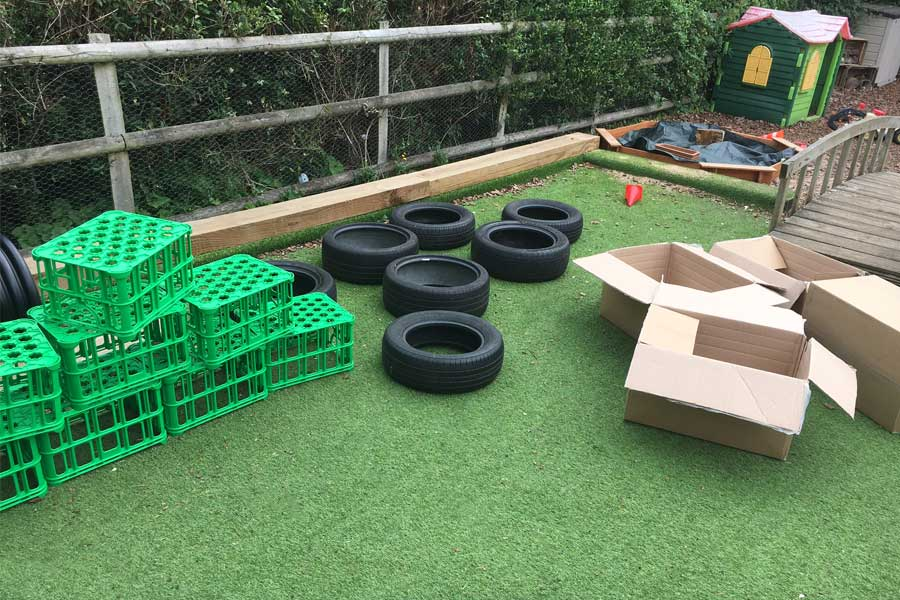 Chalkhouse Childcare - Building Confidence in the Garden