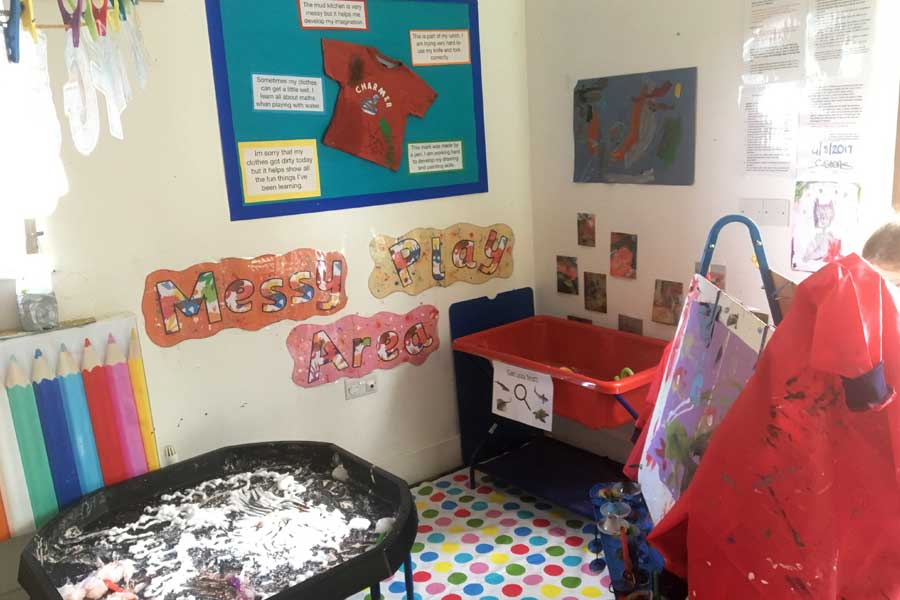 Chalkhouse Childcare - Learning through Messy Play
