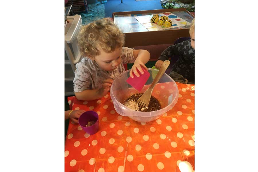 Chalkhouse Childcare - Mixing, Making and Baking